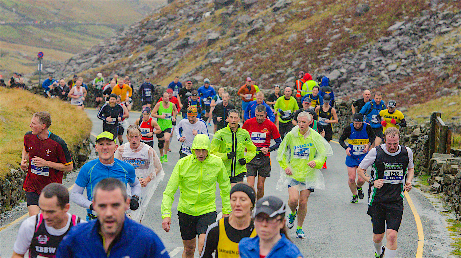 34th brooks snowdonia marathon eryri